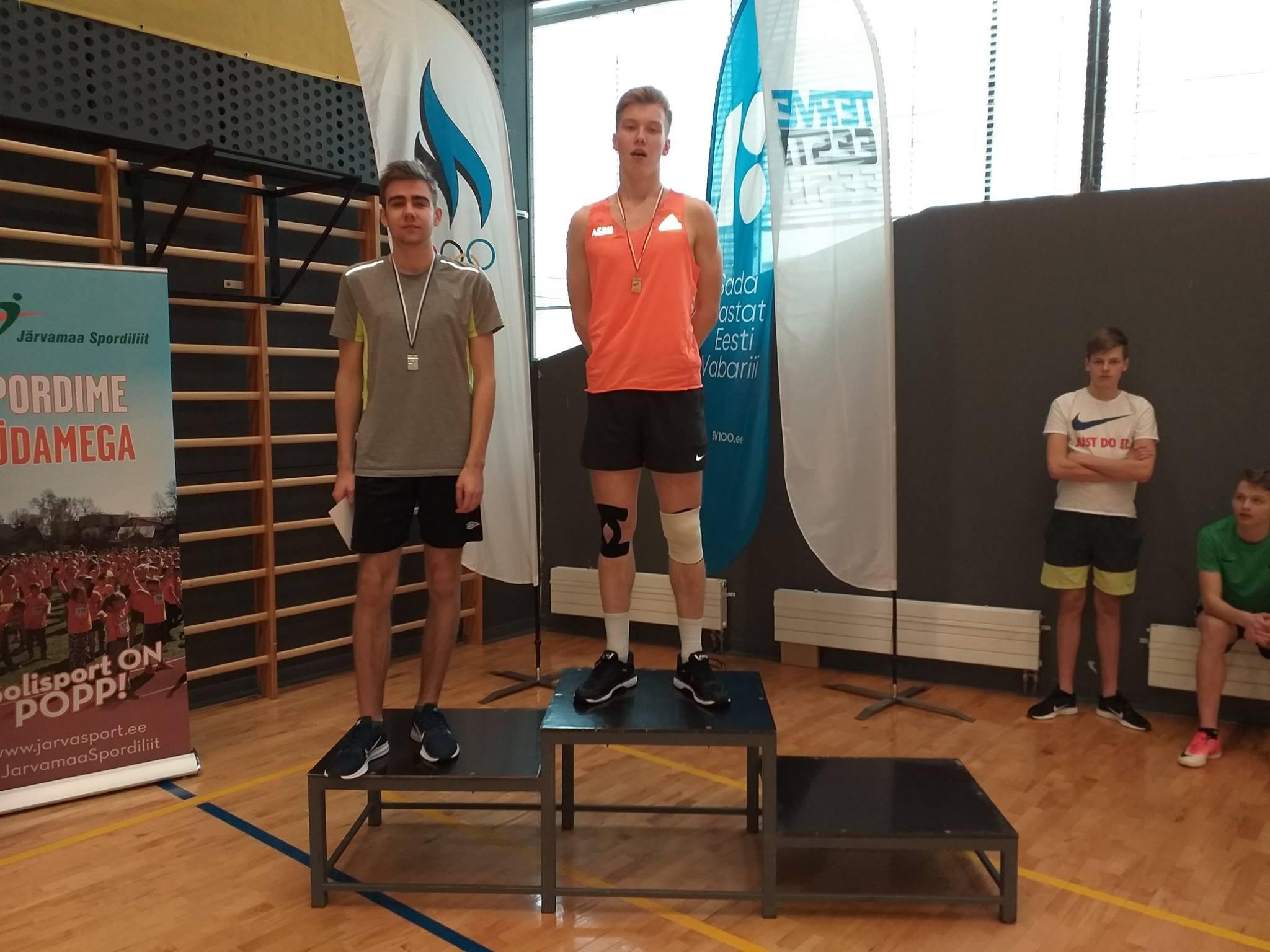 Koolinoorte Järvamaa kergejõustiku võistlused 2019